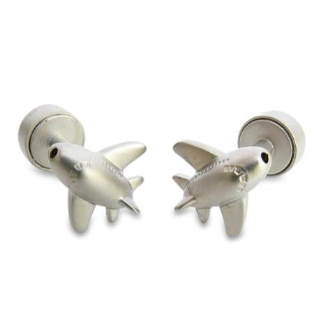 Planes with Landing Light Cufflinks