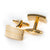 Classic Gold - Single Line Cufflinks