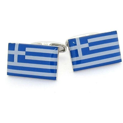 Flag of Greece - Greek Flag Cufflinks