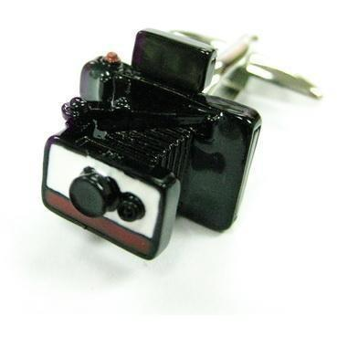 Folding-style Camera Cufflinks