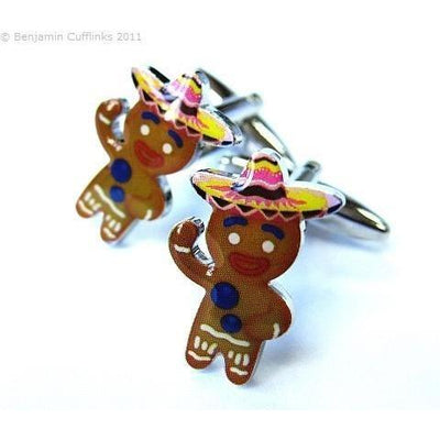 Gingerbread Man Cufflinks