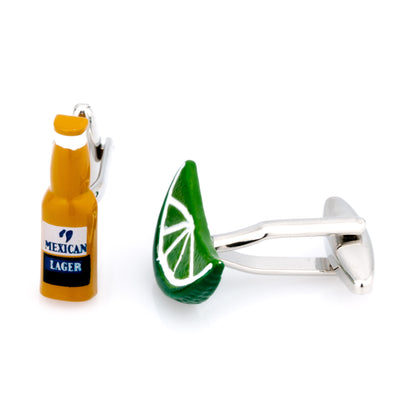 Lager & Lime Cufflinks