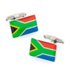 Flag of South Africa - South African Flag Cufflinks