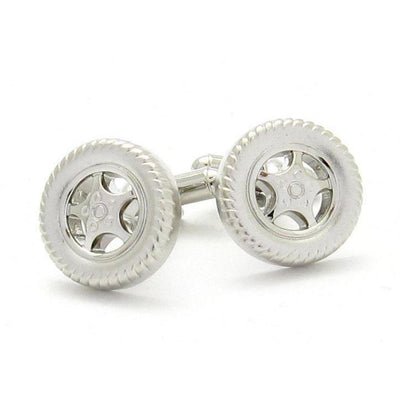 """Hot Wheels"" Tyre Cufflinks"