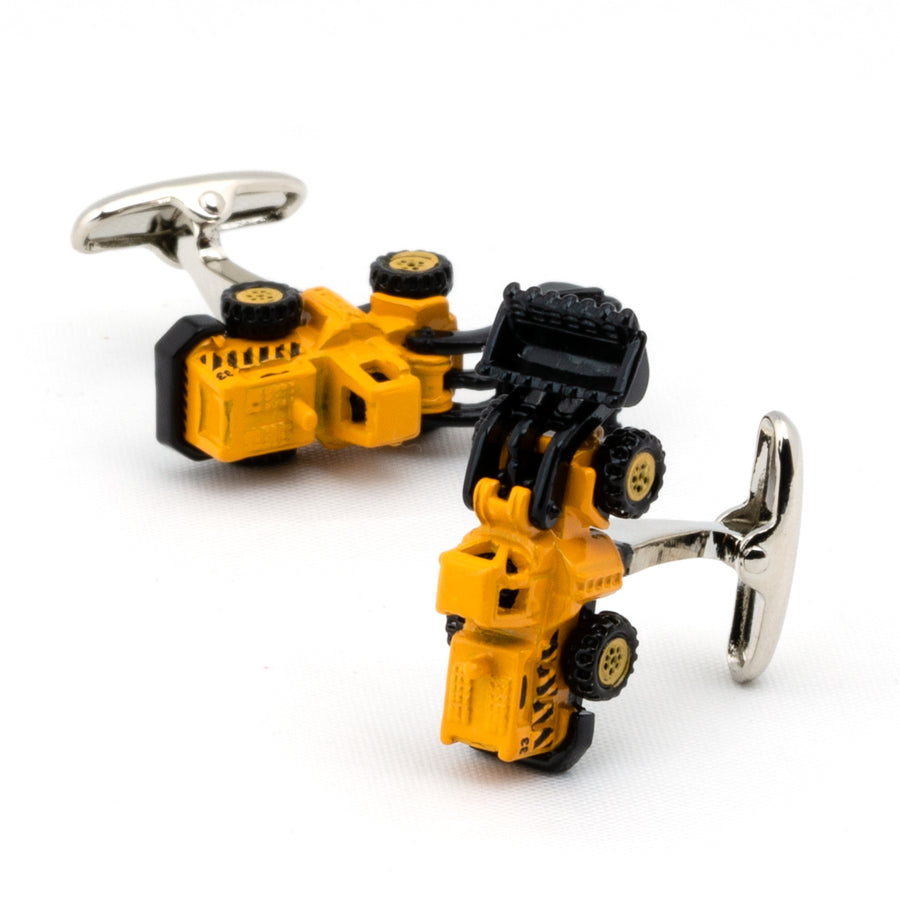 Yellow Bobcat Cufflinks