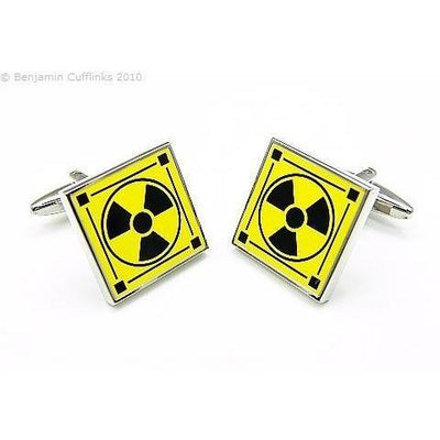 International Radiation Symbol Cufflinks