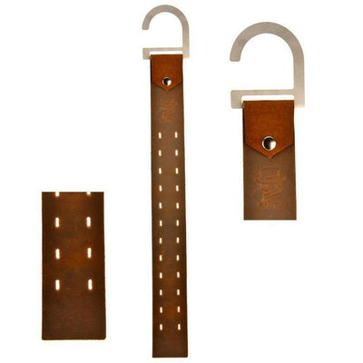 Jack Straps 12 pair Rustic Leather Cufflink Strap