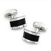 Midnight Black Cateye Cufflinks