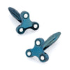Blue Fidget Spinner Cufflinks