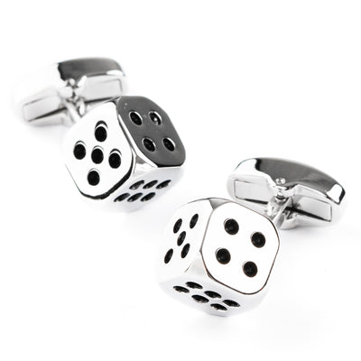 """Lucky Dice"" Cufflinks"