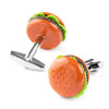 Colour Hamburger Cufflinks