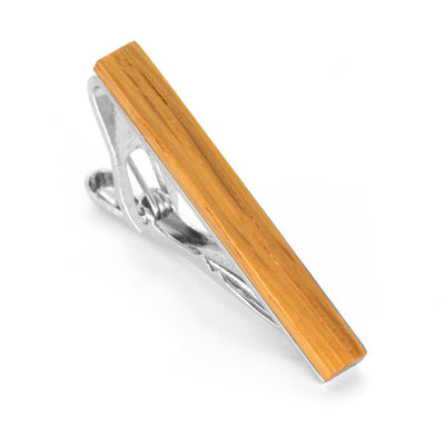 Light Wood Small Tie Clip