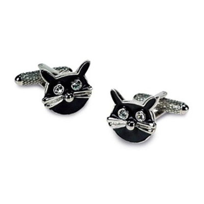 Black Cats Cufflinks