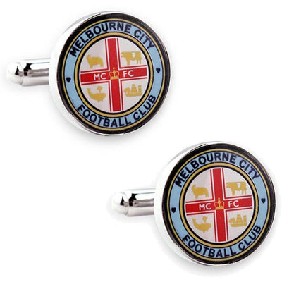 Melbourne City FC A-League Football Cufflinks