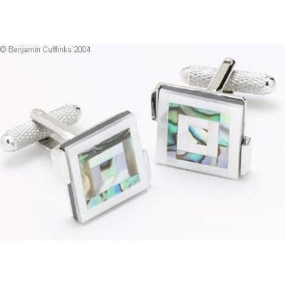 Mother of Pearl Natural Shell Cufflinks