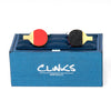 Ping Pong Table Tennis Cufflinks