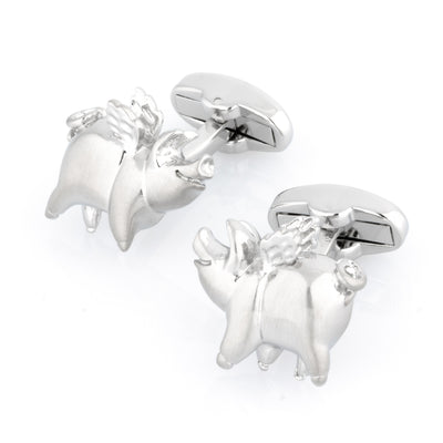 Pigs Might Fly Cufflinks