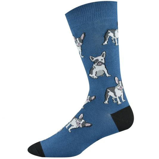 Mens French Terrier Sock