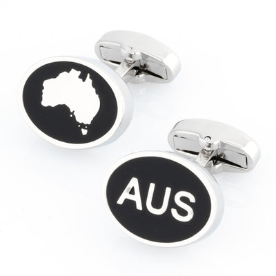 Australian Map and AUS Cufflinks