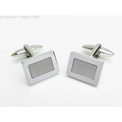 Rectangle Reversed Cufflinks