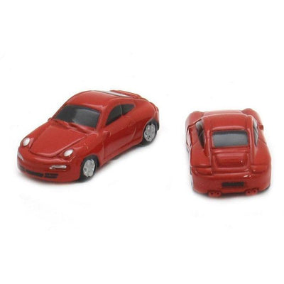 Red Porsche 911 Car Cufflinks