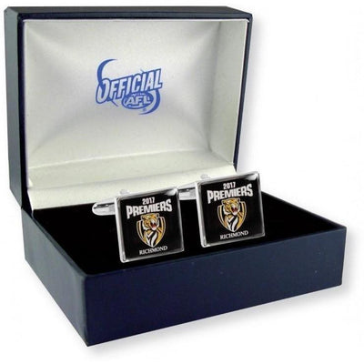 Richmond Tigers AFL Premiers 2017 Colour Cufflinks