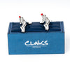 Cricket Batter Cufflinks