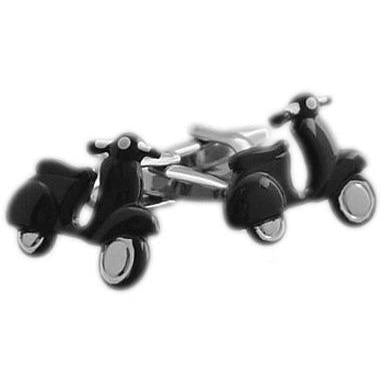 Scooter Black Cufflinks