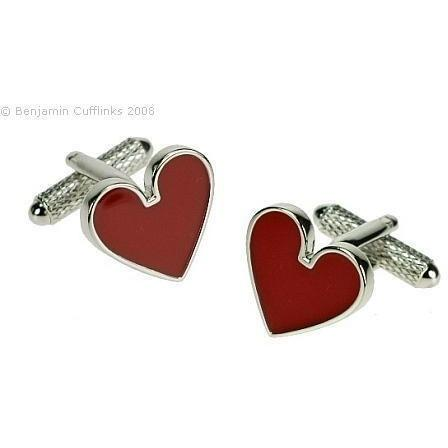 Suit of Hearts Cufflinks
