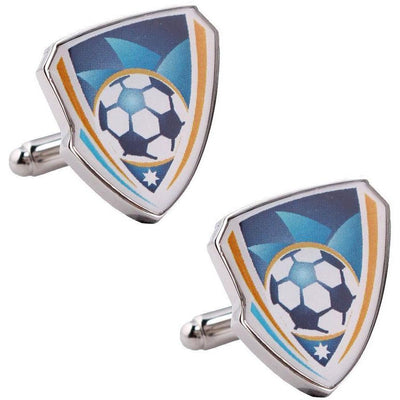 Sydney FC A-League Football Cufflinks