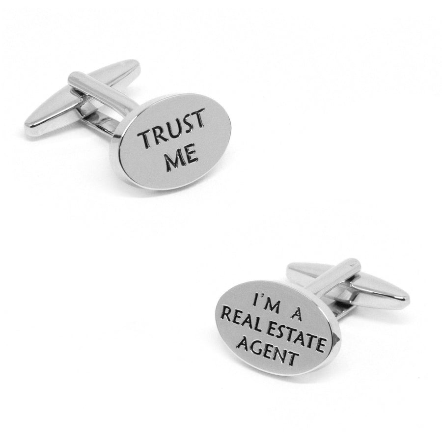 Trust Me, I'm A Real Estate Agent Cufflinks