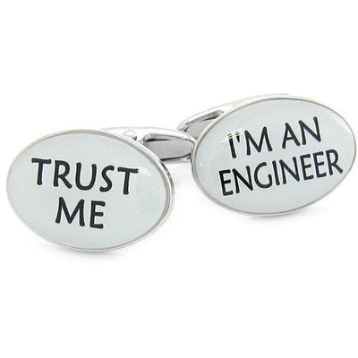 Trust Me I'm an Engineer Cufflinks