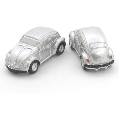 VW Beatles Silver Cufflinks