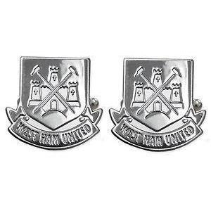West Ham Stainless Steel Cufflinks