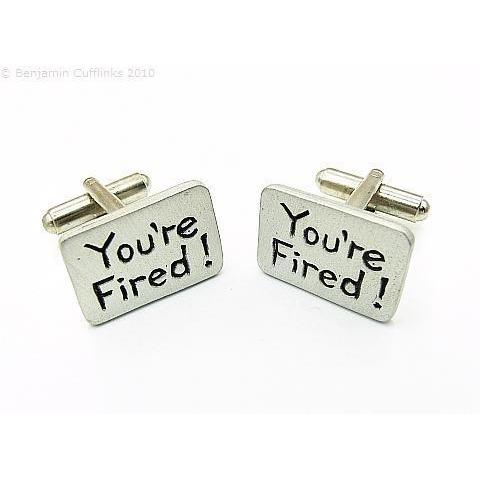 You're Fired! Cufflinks