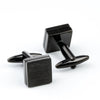 Brushed Black Cufflinks