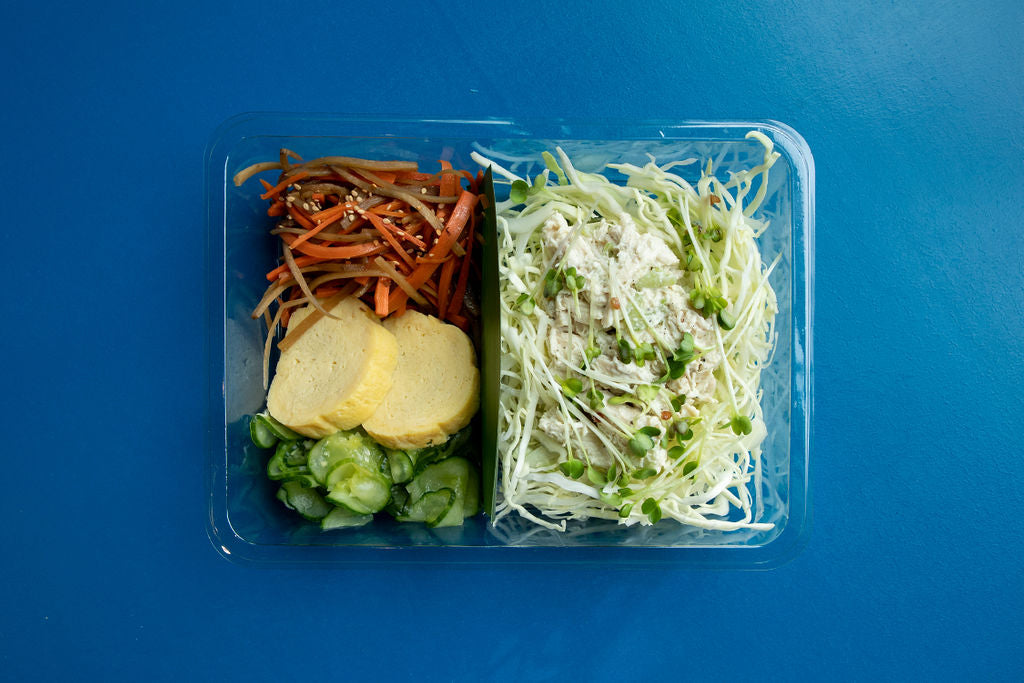Chicken Salad Bento - $10