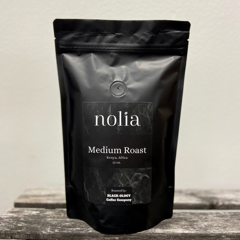 NOLIA x BLACK•OLOGY  |   Medium Roast Coffee from Kenya, Africa