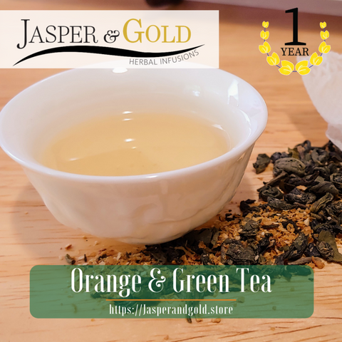 Orange & Green Tea