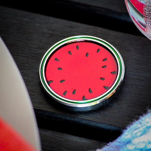 Watermelon *Summertime Series* Stainless Steel Ball Marker Coin