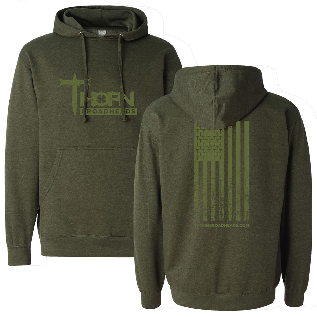 Freedom Hoodie (Army Heather)