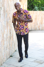 Afrika Short Sleeves Shirt