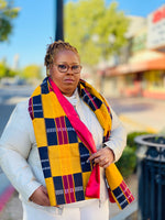 Manor Kente Scarf (Unisex)