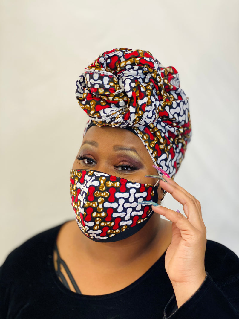 Nafisa Headwrap Set