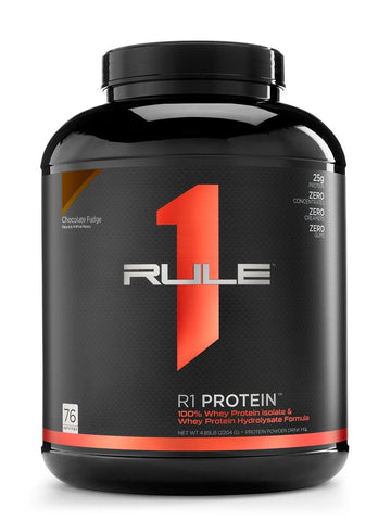 RULE 1 WHEY ISOLATE/HYDROLYSATE 5LB