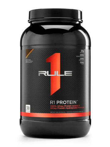 RULE 1 WHEY ISOLATE/HYDROLYSATE 2LB