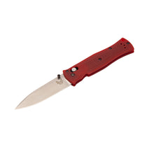 Laden Sie das Bild in den Galerie-Viewer, Benchmade limited Pardue Drop-point, CPM-S90V steel, red G10 handle