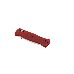 Benchmade limited Pardue Drop-point, CPM-S90V steel, red G10 handle