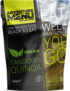 Adventure Menu, Tandoori Quinoa VEGAN