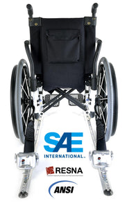 4 QRT-360 Retractors with L-Track Fittings; and Retractable Lap & Shoulder Belt Combo  | Q-10007 - wheelchairstrap.com